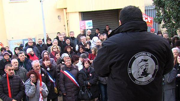 Maritima Info Social Port De Bouc Mobilisation Pour La D 233 Fense Des Services Publics 224 Port