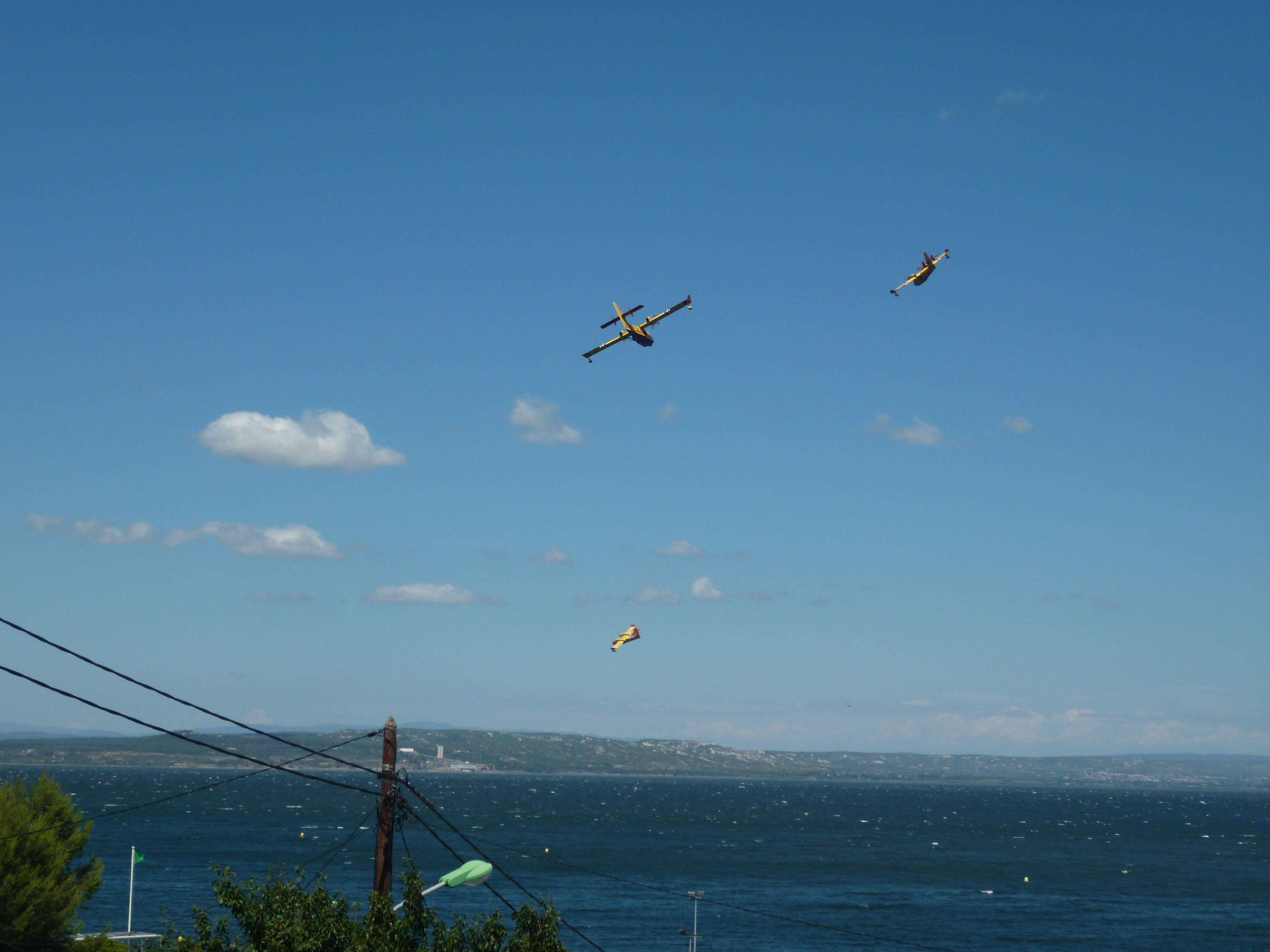 L'incendie à Istres a parcouru 5 hectares attisé par le vent