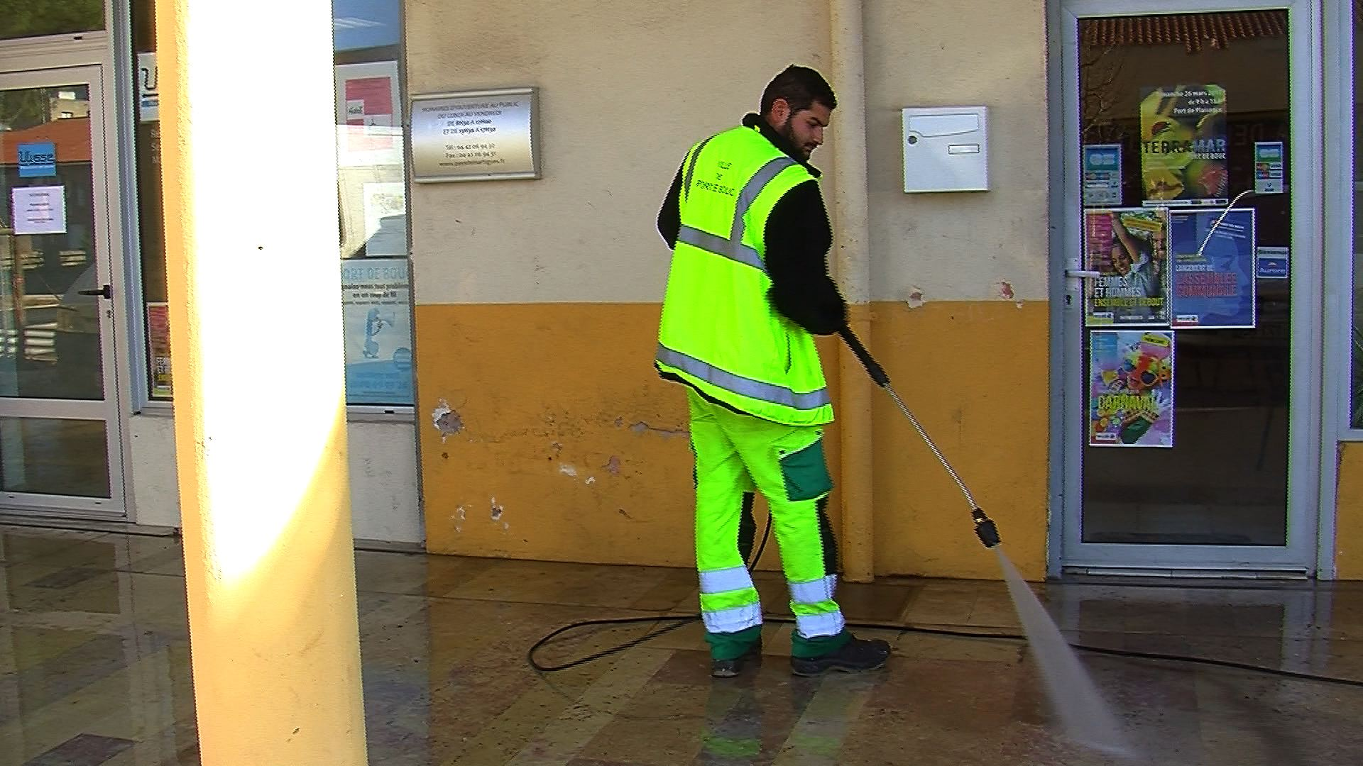 Environnement port de bouc port de bouc op ration propret de la voie publique - Patricia fernandez port de bouc ...