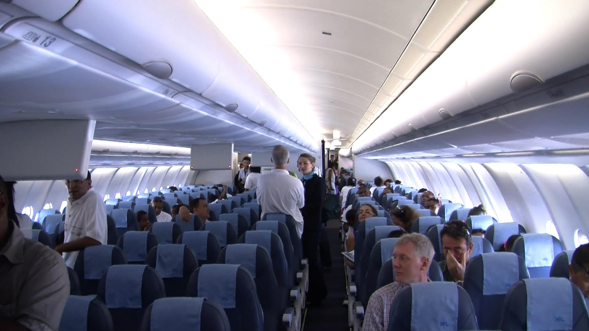Economie marignane xl airways ouvre for L interieur d un avion