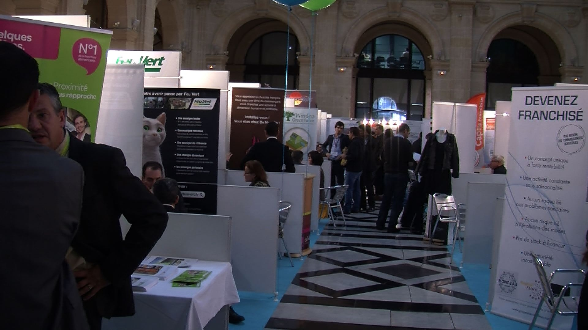 economie marseille salon top franchise