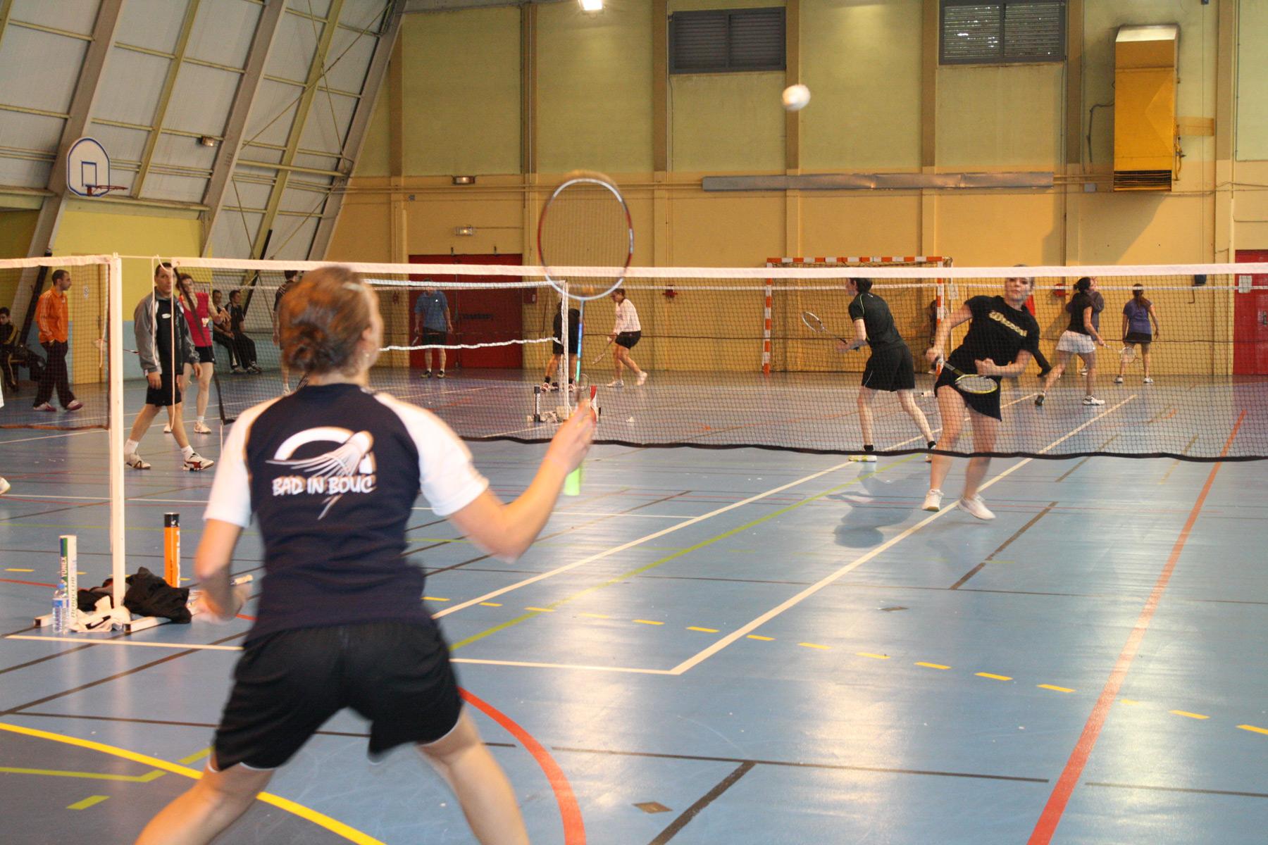 Sports port de bouc port de bouc retour sur le tournoi de bad in bouc - College frederic mistral port de bouc ...