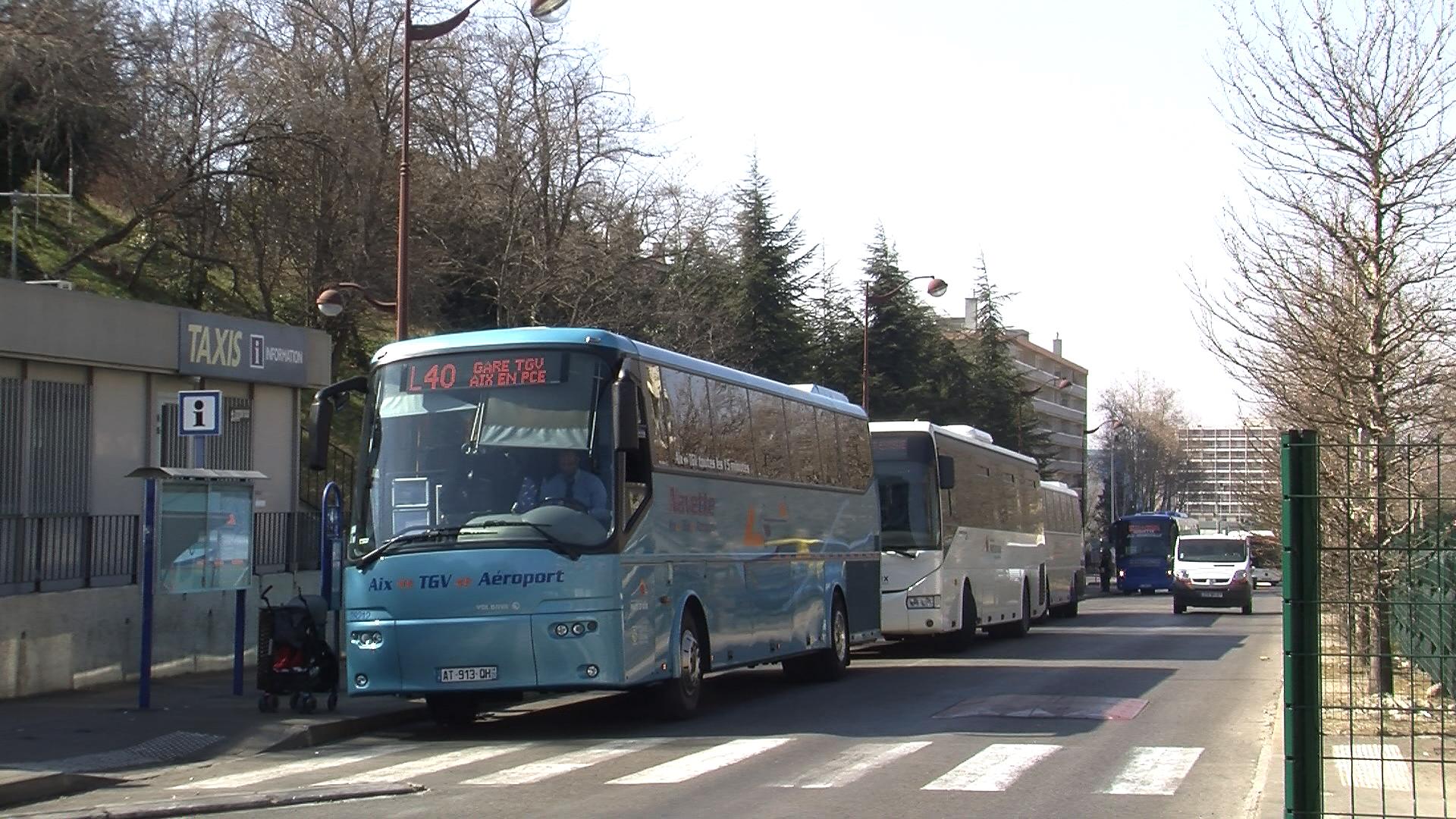 Vie des communes aix en provence aix for Gare routiere salon de provence