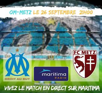 OM METZ MATCH EN DIRECT