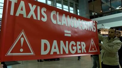 Marignane - Social - Les taxis de l'aéroport veulent des actions contre le racolage - Maritima.info