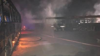 Gardanne - Faits-divers - Gardanne. Les pompiers interviennent pour un feu chez Transport Suma - Maritima.info