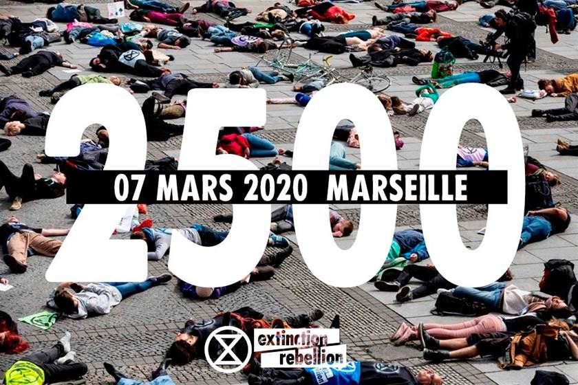 Extinction Rebellion veut dénoncer la pollution de l'air à Marseille