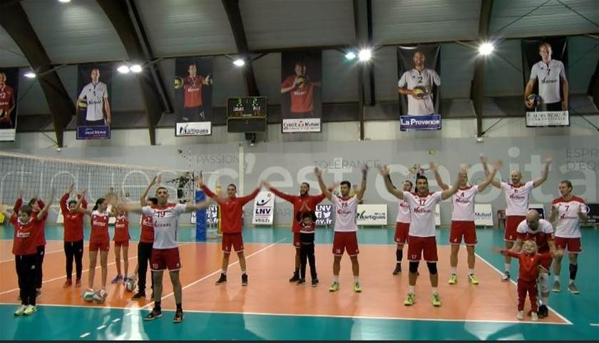 Martigues Volley a réagi en champion contre Saint-Nazaire